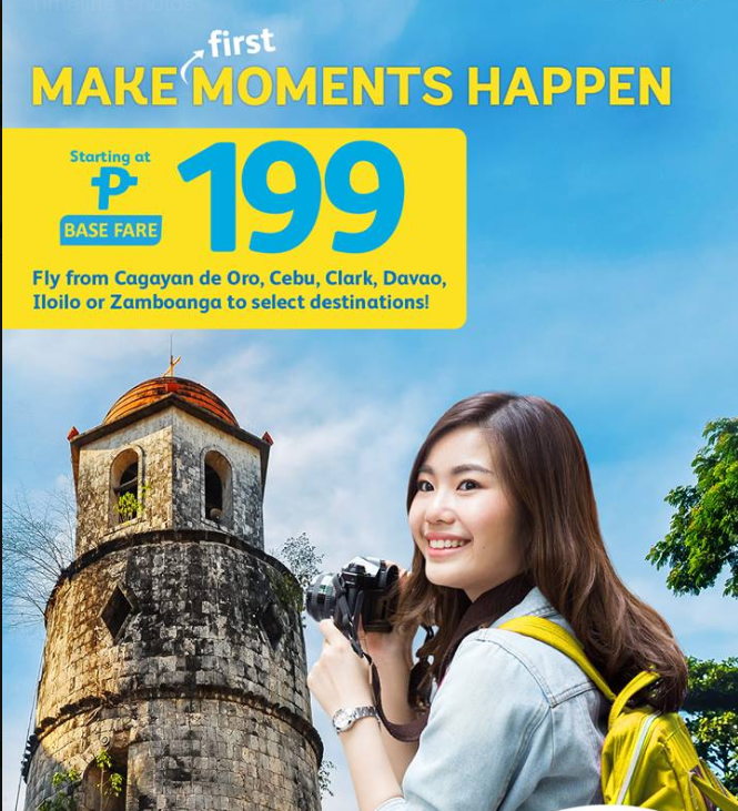 Cebu Pacific | As low as 199 Php Base Fare promo sale!