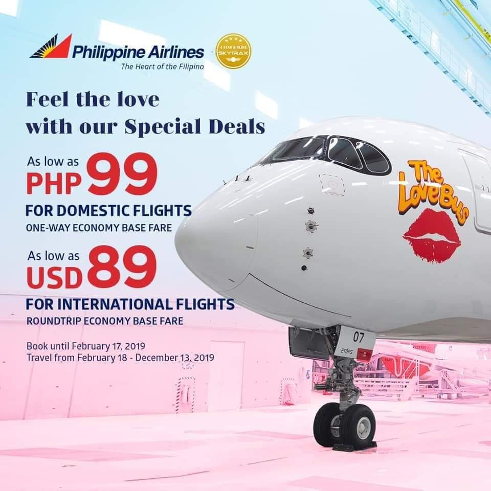 P99 SeatSale via Philippine Airlines!
