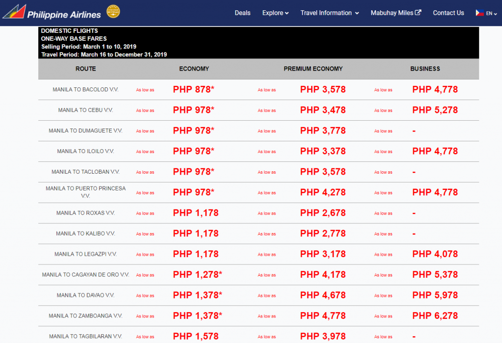 Philippine Airlines 78th Anniversary Sale!